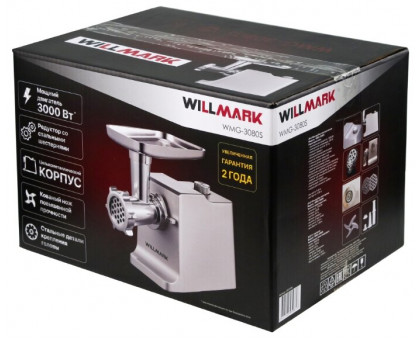 Мясорубка Willmark WMG-3080S