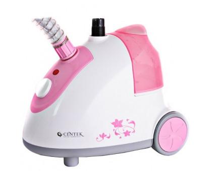 Отпариватель Centek CT-2371 (белый/розовый)