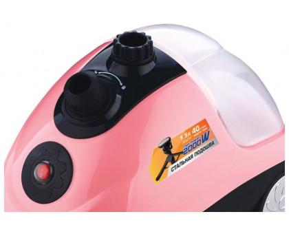 Отпариватель Centek CT-2375 (розовый/черный)