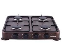 Плита газовая Аксинья КС-104 коричневая