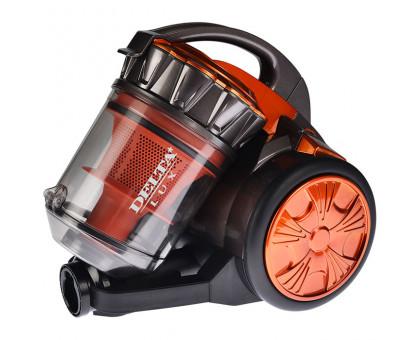 Пылесос Delta LUX DL-0834 оранж/серый