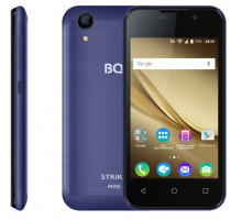 Смартфон BQ StrikeMini Dark Blue Brushed (BQ-4072)