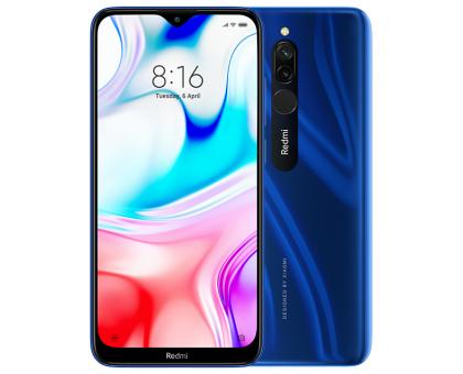 Смартфон Xiaomi Redmi 8 Sapphire Blue 3Гб/32Гб (M1908C3IG)