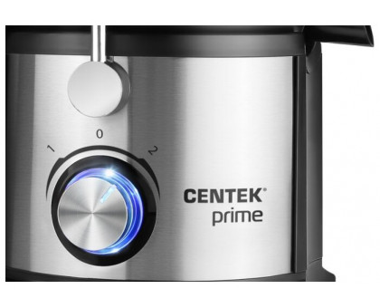 Соковыжималка Centek CT-1214 (черный, сталь)