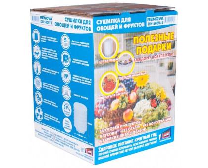 Сушка для фруктов и овощей Renova DH-500V/5