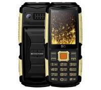 Мобильный телефон BQ TankPower Black Gold (BQ-2430)