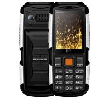 Мобильный телефон BQ TankPower Black Silver (BQ-2430)