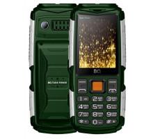 Мобильный телефон BQ TankPower Green Silver (BQ-2430)