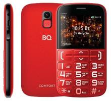 Мобильный телефон BQ Comfort Red Black (BQ-2441)
