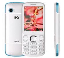Мобильный телефон BQ Telly White Blue (BQ-2808)