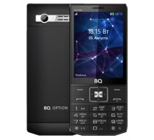 Мобильный телефон BQ Option Black (BQ-3201)