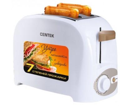 Тостер Centek СТ-1420 (белый)