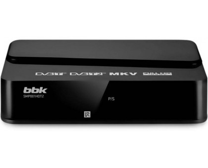 DVB-T тюнер BBK SMP001HDT2 черный