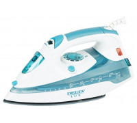 Утюг Delta LUX DL-710 белый/серо-голубой