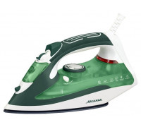 Утюг Аксинья КС-3000 белый/зеленый