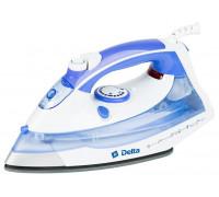 Утюг Delta DL-711 белый/фиолетовый