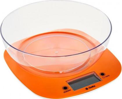 Весы кухонные Delta КСЕ-32 оранжевые