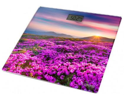 Весы напольные Lumme LU-1328 цветочное поле