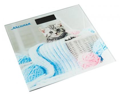 Весы напольные Аксинья КС-6002 Забавный котенок