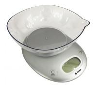 Весы кухонные Delta КСЕ-34 серебро