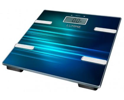 Весы напольные Lumme LU-1331 индиго