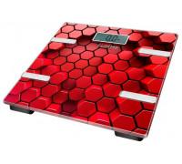 Весы напольные Lumme LU-1331 красные
