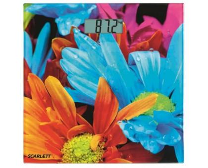 Весы напольные Scarlett SC-BS33E001 (цветочный рай)