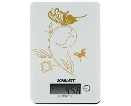 Кухонные весы Scarlett SC-1212 (белый с черным)