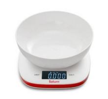 Весы кухонные Saturn KS7815 white