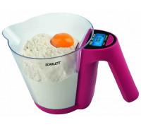 Кухонные весы Scarlett SC-1214 (брусника)