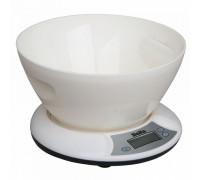 Весы кухонные Delta КСЕ-01 белые