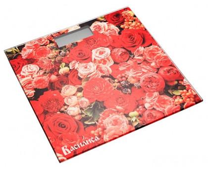 Весы напольные Василиса ВА-4010 Цветы