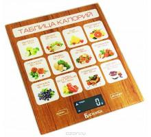 Весы кухонные Василиса ВА-003 Таблица калорий