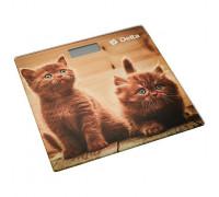 Весы напольные Delta D-9229 Рыжие котята