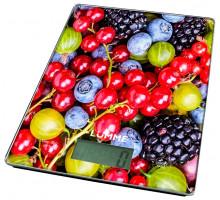 Весы кухонные Lumme LU-1340 ягодный микс