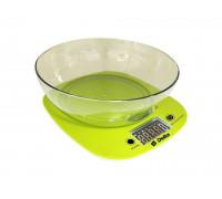 Весы кухонные Delta КСЕ-32 зеленые