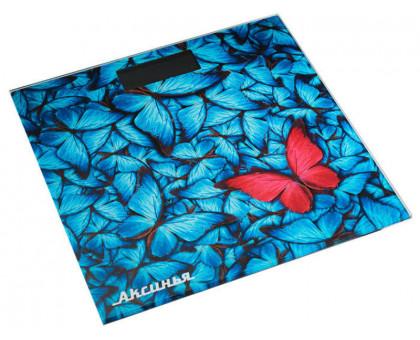 Весы напольные Аксинья КС-6001 Бабочки